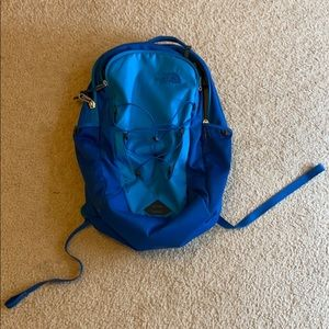 Blue North Face Jester Backpack